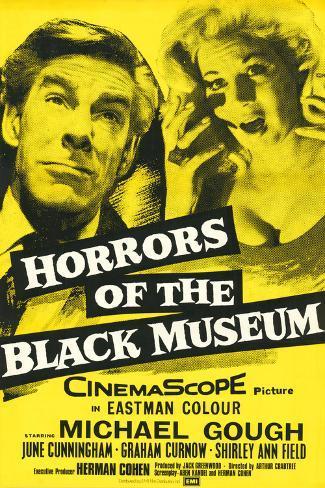 Horrors of the Black Museum Kunstdruck