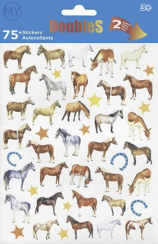 Horses Stickers Aufkleber