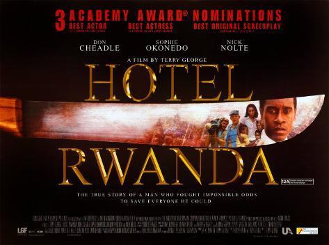 Hotel Ruanda Originalposter