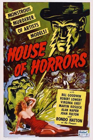 House of Horrors, 1946 Kunstdruck