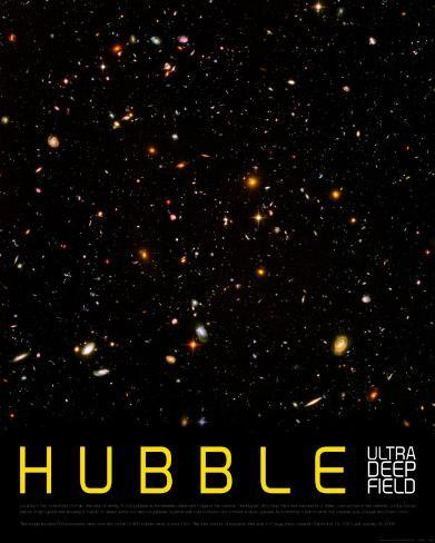 Hubble Ultra Deep Field Kunstdruck