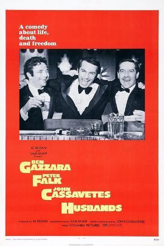 Husbands, Peter Falk, Ben Gazzara, John Cassavetes, 1970 Kunstdruck