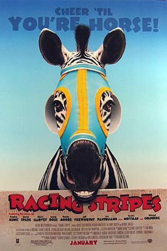 Im Rennstall ist das Zebra los! Originalposter