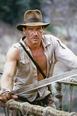 Indiana Jones and the Temple of Doom 1984 Directed by Steven Spielberg Harrison Ford Foto
