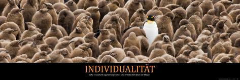 Individualität (German Translation) Foto