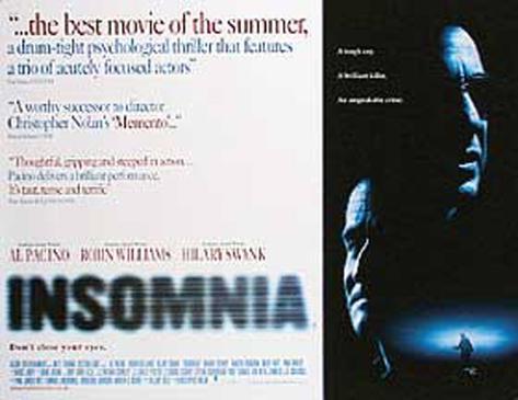 Insomnia–Schlaflos Originalposter