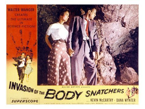 Invasion of the Body Snatchers, Dana Wynter, Kevin McCarthy, 1956 Foto