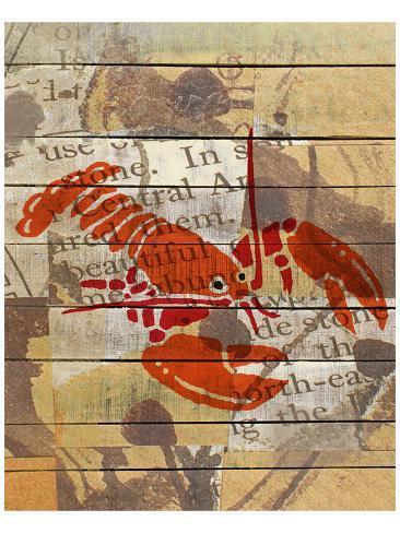 Red Lobster III Kunstdruck