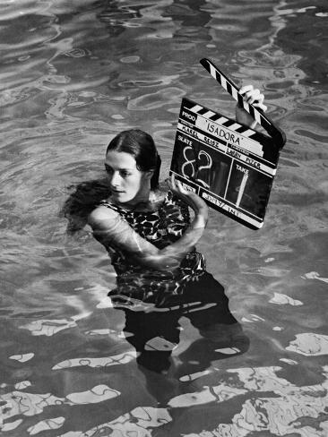 Isadora, 1968 Fotografie-Druck