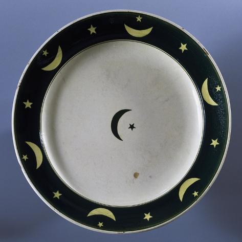 Islamic Plate Giclée-Druck