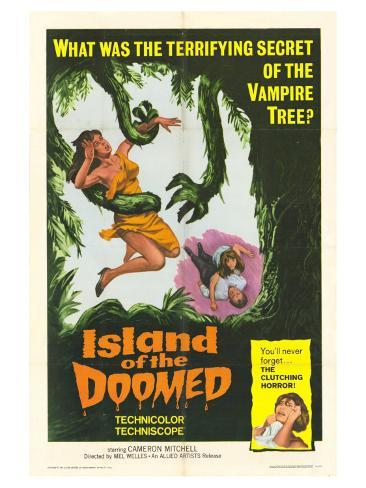 Island of the Doomed, 1967 Giclée-Premiumdruck
