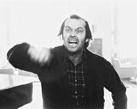 Jack Nicholson, The Shining (1980) Foto
