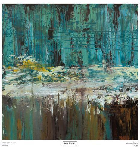 Tiefes Wasser I Kunstdruck