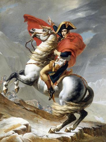 Napoleon Crossing the Saint-Bernard Pass Giclée-Druck