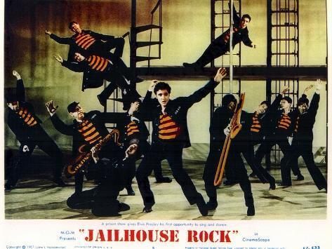 Jailhouse Rock, 1957 Kunstdruk
