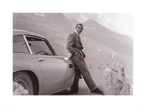 James Bond - Aston Martin Kunstdruck