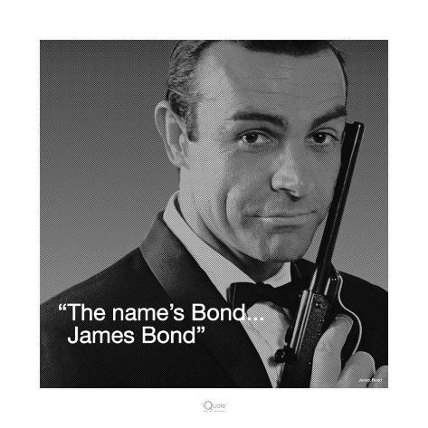 James Bond: Bond Kunstdruck