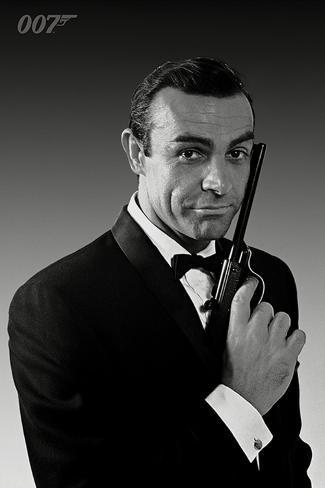 James Bond - Connery Tuxedo Poster