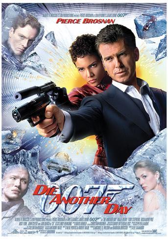 James Bond (Die Another Day One-Sheet) Movie Poster Print Neuheit