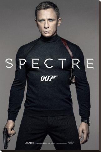 James Bond- Spectre Colour Teaser Bedruckte aufgespannte Leinwand