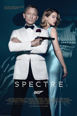 James Bond- Spectre One Sheet Poster