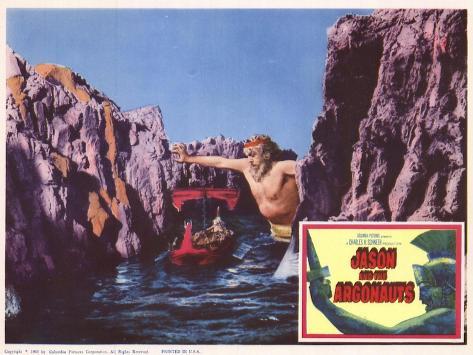 Jason and the Argonauts, 1963 Kunstdruck