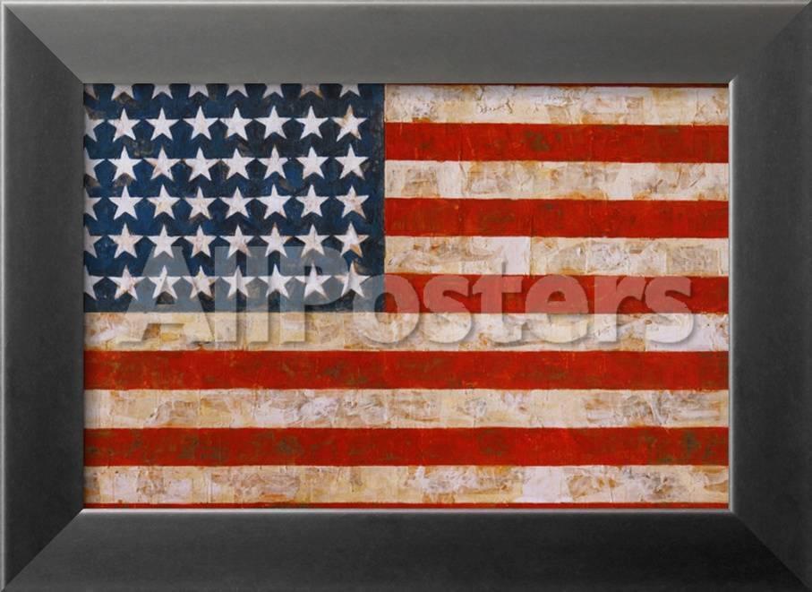 Flagge, 1854-55 Poster von Jasper Johns bei AllPosters.de