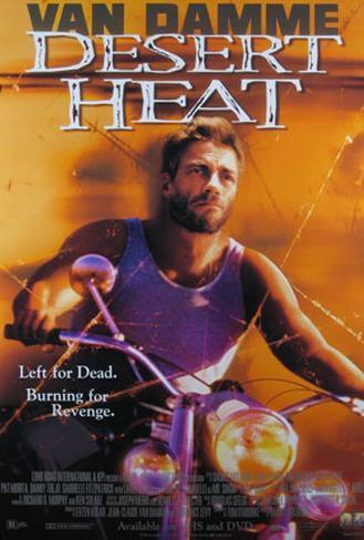 Jean-Claude Van Damme– Inferno Poster
