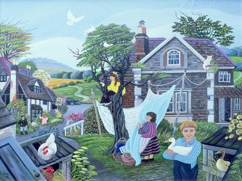 A Place in the Country, 1988 Giclée-Druck