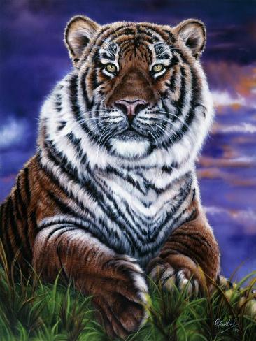 Arizona Tiger Giclée-Druck