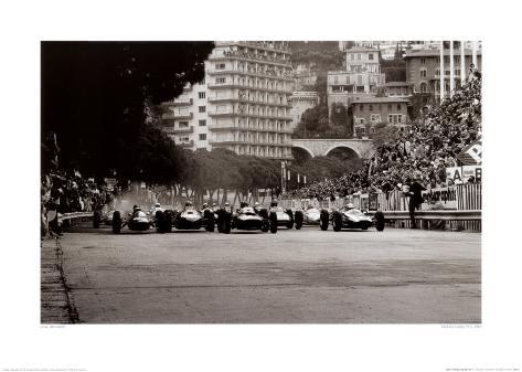 Monaco Grand Prix, 1962 Kunstdruck