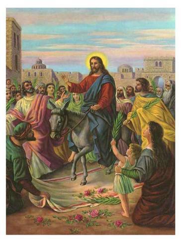 Jesus Einzug In Jerusalem