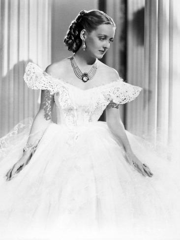 Jezebel, Directed by William Wyler, Bette Davis, 1938 Fotografie-Druck