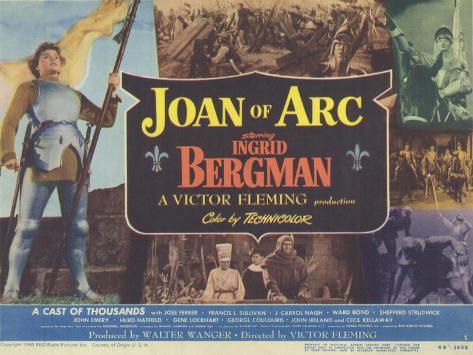Joan of Arc, 1948 Kunstdruck
