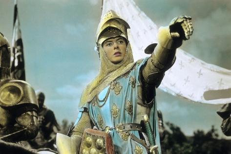 Joan of Arc by Victor Fleming with Ingrid Bergman, 1948 Foto