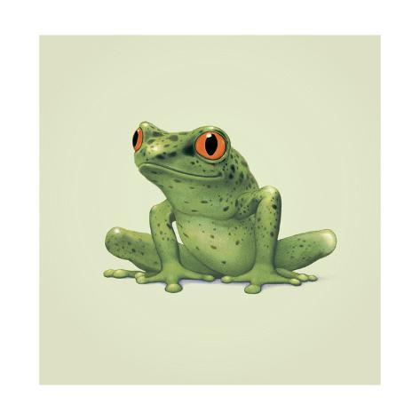 Frosch Giclée-Druck