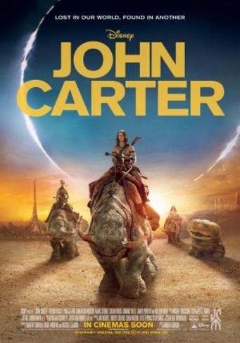 John Carter Doppelseitiges Poster