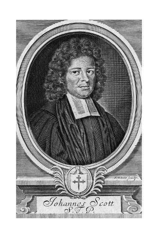 John Scott, Churchman Giclée-Druck