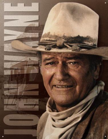 John Wayne – Ringo Blechschild