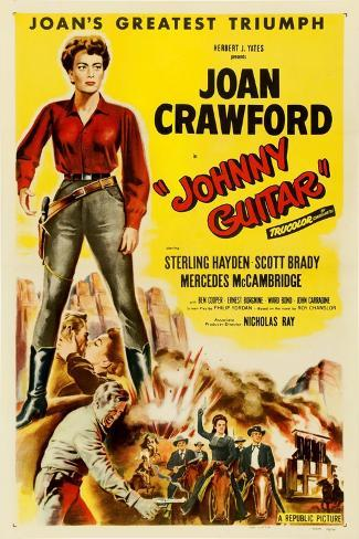 Johnny Guitar, 1954, Directed by Nicholas Ray Giclée-Druck