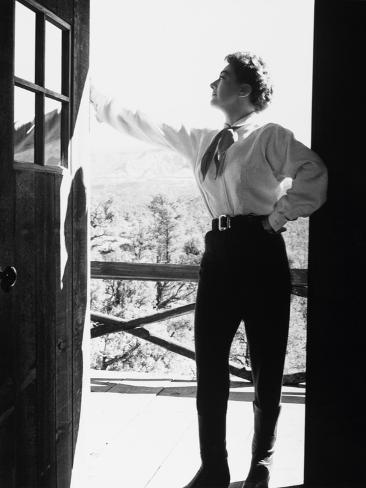 Johnny Guitar, 1954 Fotografie-Druck