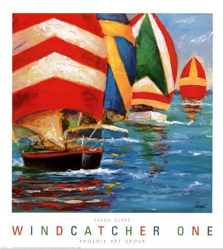 Windcatcher I Kunstdruck