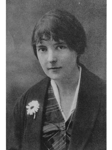 Katherine Mansfield 1 Fotografie-Druck