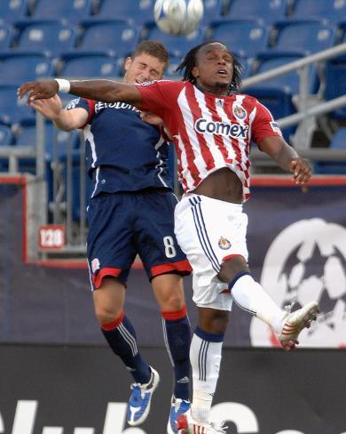 Jul 19, 2009, Chivas USA vs New England Revolution - Chris Tierney Foto