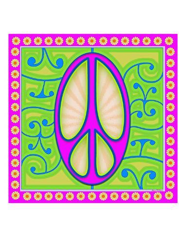 Peace Sign Purple