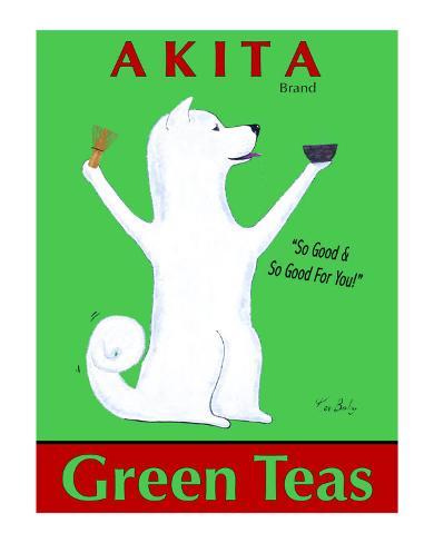 Akita Green Tea Sammlerdrucke