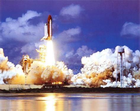 Kennedy-Raumfahrtzentrum Kunstdruck