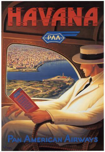 Havanna Kunstdruck