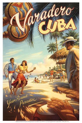 Varadero, Kuba Kunstdruck