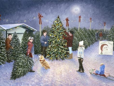 A Christmas Tradition Giclée-Druck